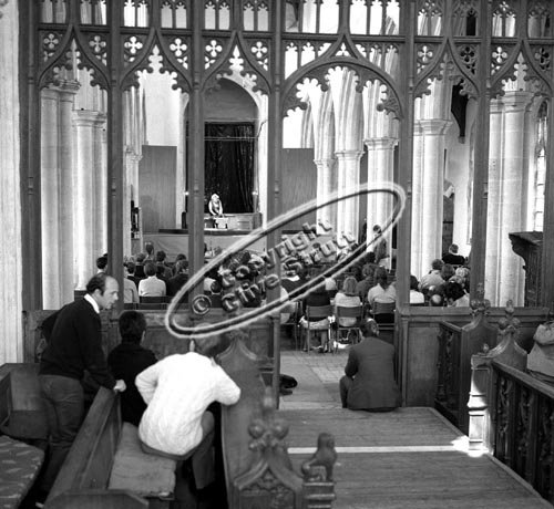 Idomeneo at Blythburgh Church in 1969