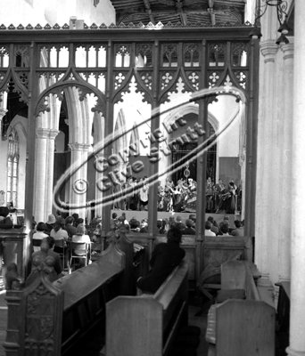 Idemeneo at Blythburgh Church in 1969