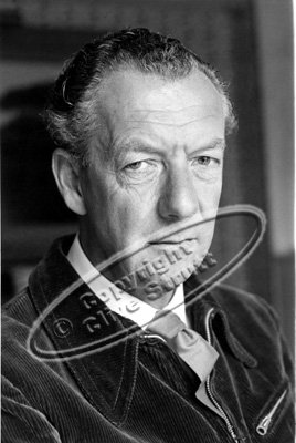 Portrait of Benjamin Britten