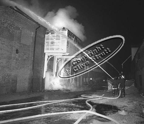 Fire Snape Maltings 1969
