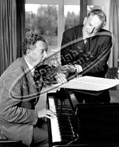 Benjamin Britten and Peter Pears